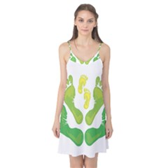 Soles Feet Green Yellow Family Camis Nightgown