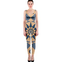 Stellated Regular Dodecagons Center Clock Face Number Star OnePiece Catsuit