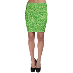 Specktre Triangle Green Bodycon Skirt