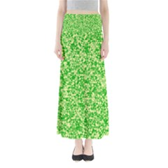 Specktre Triangle Green Maxi Skirts
