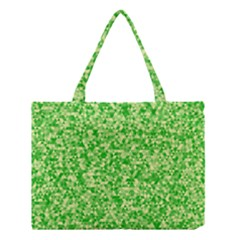 Specktre Triangle Green Medium Tote Bag