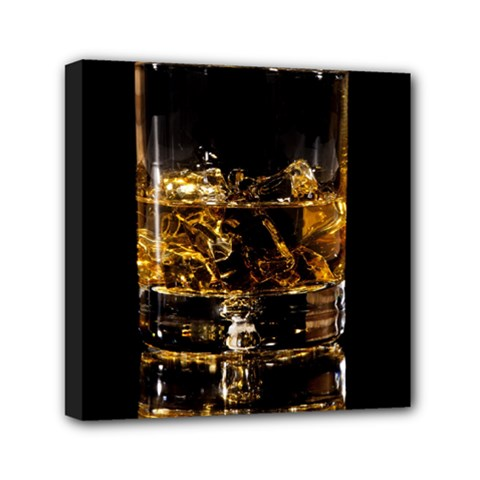 Drink Good Whiskey Mini Canvas 6  x 6