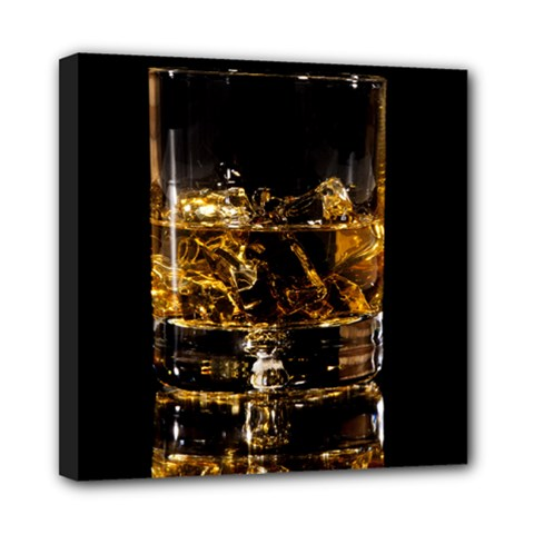 Drink Good Whiskey Mini Canvas 8  x 8
