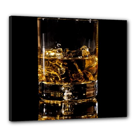 Drink Good Whiskey Canvas 24  x 20