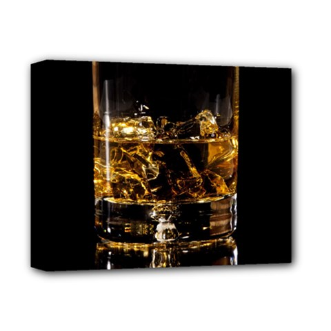 Drink Good Whiskey Deluxe Canvas 14  x 11