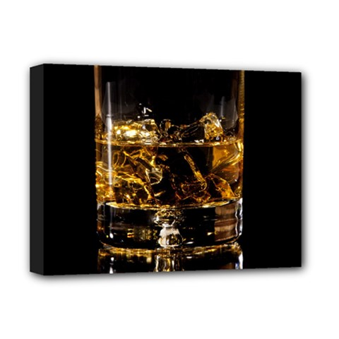 Drink Good Whiskey Deluxe Canvas 16  x 12