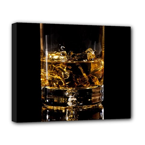 Drink Good Whiskey Deluxe Canvas 20  x 16