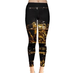 Drink Good Whiskey Leggings