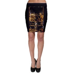Drink Good Whiskey Bodycon Skirt