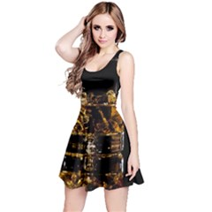 Drink Good Whiskey Reversible Sleeveless Dress