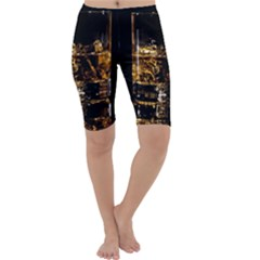 Drink Good Whiskey Cropped Leggings