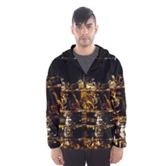 Drink Good Whiskey Hooded Wind Breaker (Men)