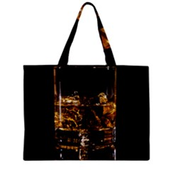 Drink Good Whiskey Zipper Mini Tote Bag