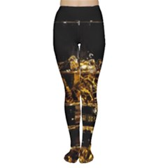 Drink Good Whiskey Women s Tights
