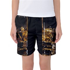 Drink Good Whiskey Women s Basketball Shorts