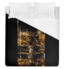 Drink Good Whiskey Duvet Cover (Queen Size)