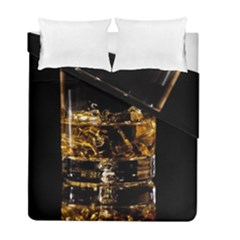 Drink Good Whiskey Duvet Cover Double Side (Full/ Double Size)