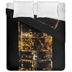 Drink Good Whiskey Duvet Cover Double Side (California King Size)