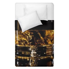 Drink Good Whiskey Duvet Cover Double Side (Single Size)