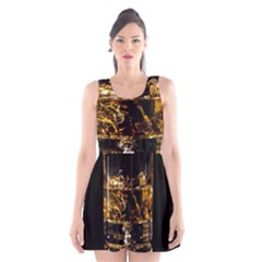 Drink Good Whiskey Scoop Neck Skater Dress