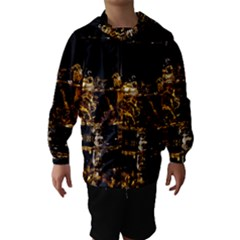 Drink Good Whiskey Hooded Wind Breaker (Kids)
