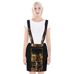 Drink Good Whiskey Suspender Skirt