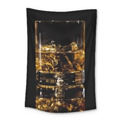Drink Good Whiskey Small Tapestry