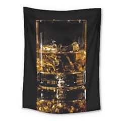 Drink Good Whiskey Medium Tapestry