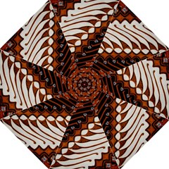Traditional Batik Sarong Folding Umbrellas