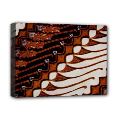 Traditional Batik Sarong Deluxe Canvas 16  x 12