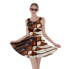 Traditional Batik Sarong Skater Dress
