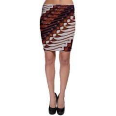Traditional Batik Sarong Bodycon Skirt