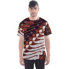 Traditional Batik Sarong Men s Sport Mesh Tee