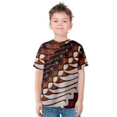 Traditional Batik Sarong Kids  Cotton Tee