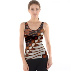 Traditional Batik Sarong Tank Top