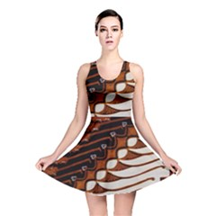 Traditional Batik Sarong Reversible Skater Dress