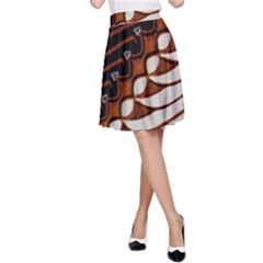 Traditional Batik Sarong A-Line Skirt