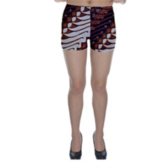 Traditional Batik Sarong Skinny Shorts