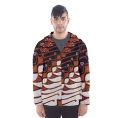 Traditional Batik Sarong Hooded Wind Breaker (Men)