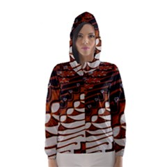 Traditional Batik Sarong Hooded Wind Breaker (Women)