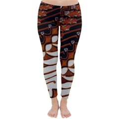 Traditional Batik Sarong Classic Winter Leggings