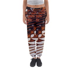 Traditional Batik Sarong Women s Jogger Sweatpants