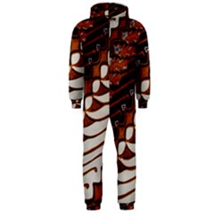 Traditional Batik Sarong Hooded Jumpsuit (Men)