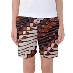 Traditional Batik Sarong Women s Basketball Shorts