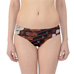 Traditional Batik Sarong Hipster Bikini Bottoms