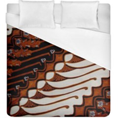 Traditional Batik Sarong Duvet Cover (King Size)