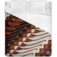 Traditional Batik Sarong Duvet Cover (California King Size)