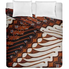 Traditional Batik Sarong Duvet Cover Double Side (California King Size)