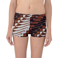 Traditional Batik Sarong Reversible Bikini Bottoms