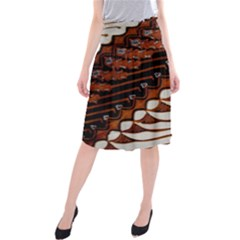 Traditional Batik Sarong Midi Beach Skirt